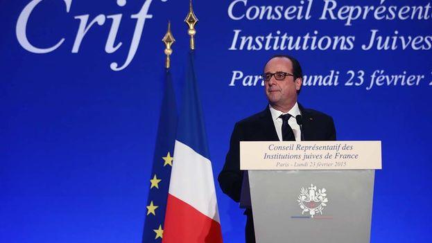 El presidente de Francia, François Hollande. (Eliseo)