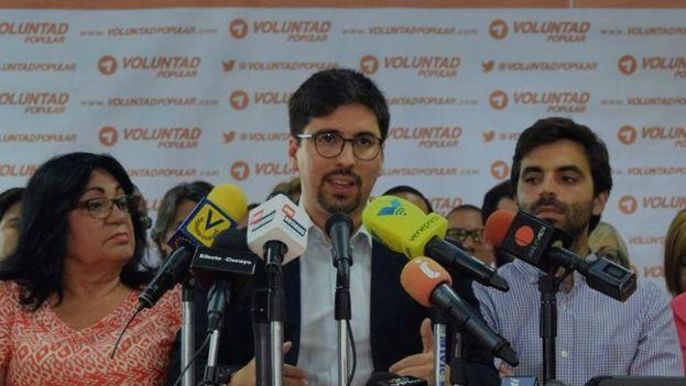 """Freddy Guevara pidió a todos los partidos no participar """"de manera alguna"""" en las municipales """"para no convalidar un fraude anunciado"""". (@FreddyGuevaraC)"""