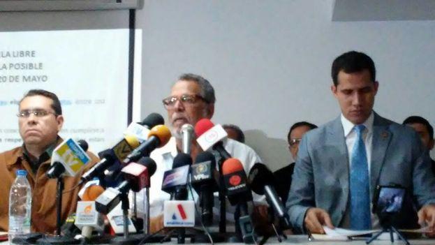 El Frente Amplio Venezuela Libre denunció las irregularidades que lo empujan a no reconocer al ganador de las próximas presidenciales. (unidadvenezuela)