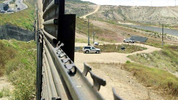 Frontera de México-EEUU. (Archivo EFE)