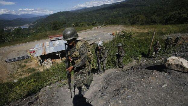 Fuentes del Comando Conjunto de las Fuerzas Armadas confirmaron el asesinato de 14 personas, aunque otras fuentes lo elevan a 18. (El Comercio)