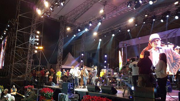 La Fuerza Alternativa Revolucionaria de Colombia se presentó como partido con un concierto en Bogotá. (FARC)