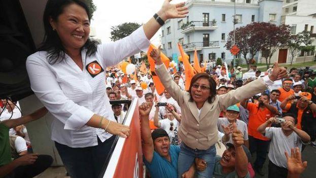 La líder del partido Fuerza Popular, Keiko Fujimori. (EFE)