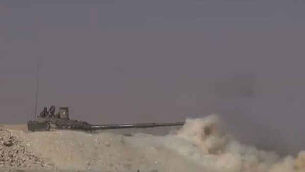 """Las Fuerzas Armadas adujeron que no importa de donde venga el apoyo, ya que eliminarán """"el terrorismo de todo el territorio"""". (SANA)"""