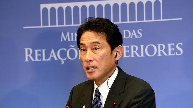 Fumio Kishida, canciller de Japón. (Flickr)