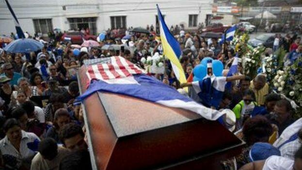 Funeral este domingo del opositor preso Eddy Morales, fallecido tras recibir un disparo el pasado jueves. (D.R.)