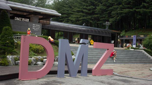 Cuanto más se aleja uno de Gangneung más se van sucediendo las alambradas, los puestos de vigía o las defensas antitanque hasta llegar a la mismísima zona desmilitarizada. (CC)