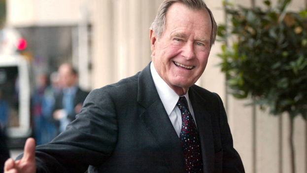 George H. W. Bush en una imagen de 2002. (EFE)