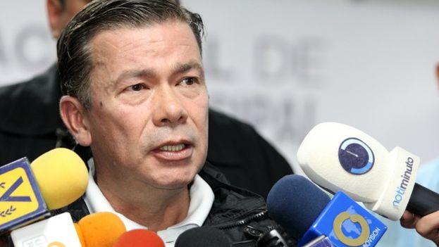 """El jefe del equipo de campaña del antichavismo, Gerardo Blyde, dijo que constituirán grupos para """"cuidar y defender el voto"""" en las elecciones a gobernadores del 15 de octubre. (EFE/Archivo)"""