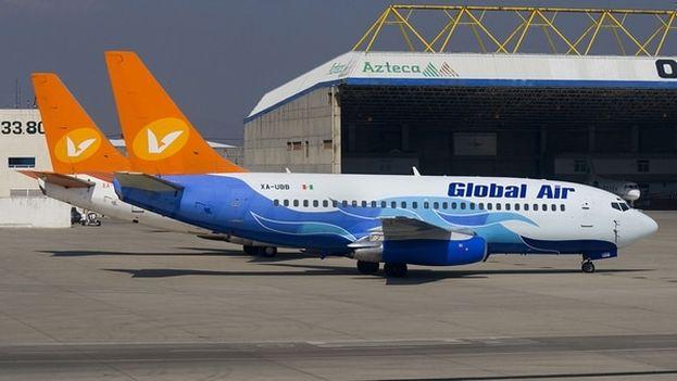 Global Air superó con éxito la última verificación anual realizada por las autoridades mexicanas en noviembre de 2017. (Global Air)