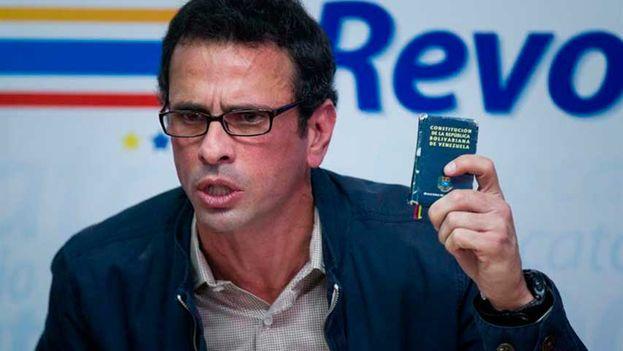 Gobernador del Estado Miranda, Henrique Capriles Radonski (EFE)