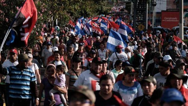 El Gobierno de Daniel Ortega no ha asumido las recomendaciones de la OMS, mas bien las contraviene. (EFE)