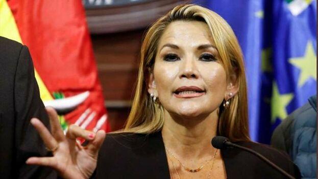 El Gobierno de Jeanine Áñez acusa a las autoridades cubanas de injerencia. (EFE)