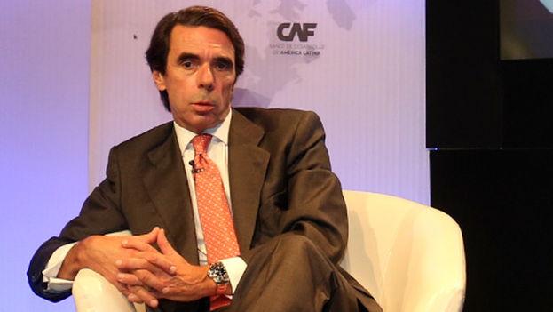 El expresidente del Gobierno español, José María Aznar. (Foro Futuro en Español)