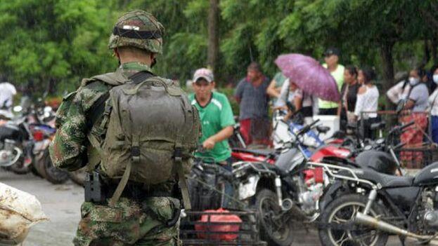 La organización enmarcó sus acusaciones en el contexto de la ofensiva lanzada en marzo por el Gobierno del presidente Nicolás Maduro contra grupos irregulares en Apure. (Captura)