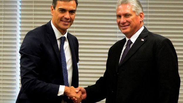 El Gobierno anunció este martes que Pedro Sánchez viajará a Cuba los días 22 y 23 de noviembre pare reunirse con Díaz-Canel. (Captura)