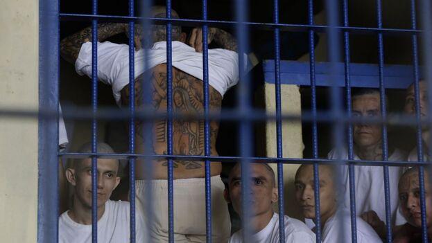"""El Gobierno de Sánchez Cerén implementó las llamadas """"medidas extraordinarias"""" en las cárceles, que en la práctica eran un endurecimiento del régimen al igual que el ordenado por Bukele. (EFE)"""