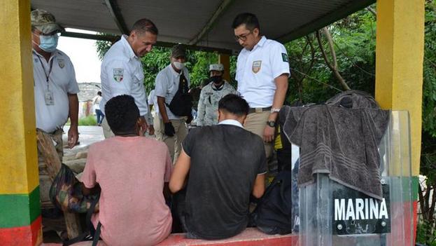 El Gobierno mexicano registró en el primer bimestre del año 21.232 detenciones. (Diario del Sur)