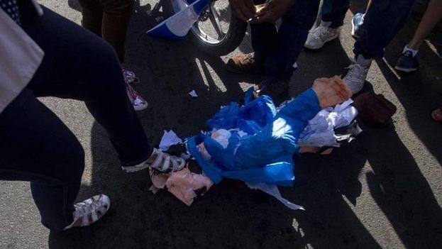 Las protestas contra el Gobierno del presidente Daniel Ortega han dejado centenares de muertos desde abril pasado. (EFE)