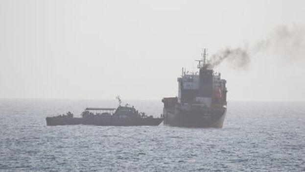Los Gobiernos de Irán y Venezuela se encuentran bajo presiones económicas debido a las numerosas sanciones impuestas por EE UU. (Efe/Epa/Us Navy)