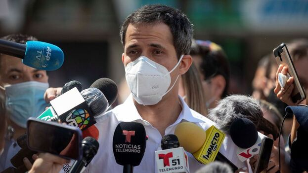 Guaidó pedirá a la actual AN que desconozca el resultado de las elecciones del pasado 6 de diciembre por considerarlas un fraude. (EFE)