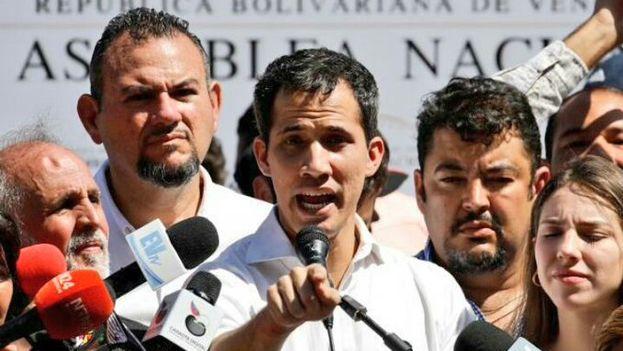 Guaidó, presidente de la Asamblea y diputado de Voluntad Popular, en Vargas después de su detención. (Juan Guaidó)