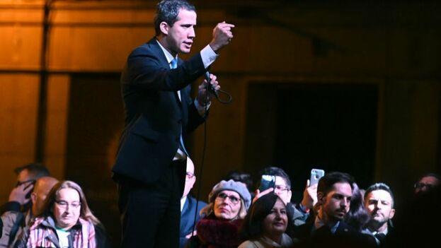 El equipo de Guaidó aún no ha anunciado los detalles exactos del acto del líder en Miami. (EFE)