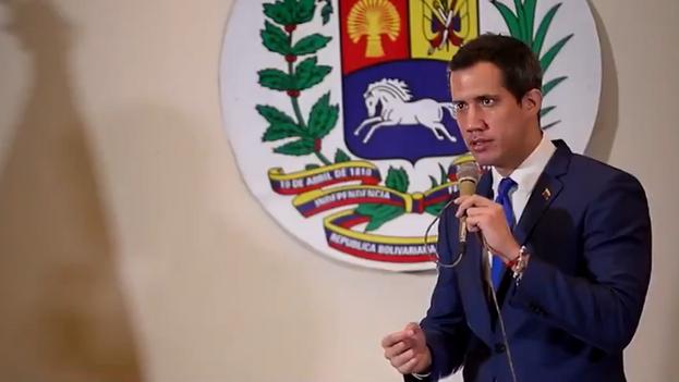 """Guaidó aseguró que al Gobierno """"le va a ir mucho peor"""" que en 2018. (JGuaido)"""