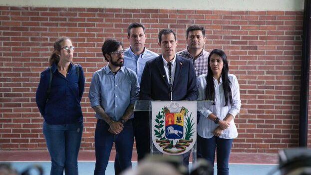 Guaidó denunció la detención de Marrero y ha afirmado que no se detendrá en su lucha. (JuanGuaido)