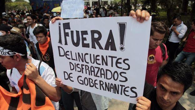 En Guatemala, Centroamérica, la corrupción ha salpicado a buena parte de la clase política. (EFE)