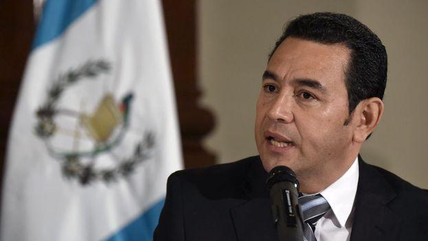 El presidente de Guatemala, Jimmy Morales, expulsó del país al titular de la Comisión Internacional Contra la Impunidad en Guatemala (Cicig), Iván Velásquez. (EFE)
