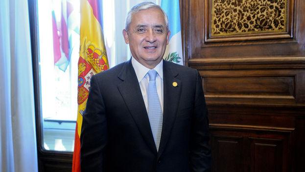 El expresidente de Guatemala, Otto Pérez Molina. (Casa de América)