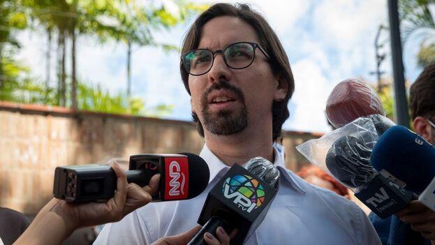 Guevara se encontraba refugiado en la sede diplomática chilena en Caracas desde el 4 de noviembre de 2017. (EFE)