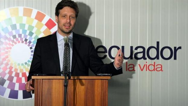 Guillaume Long, ministro de Cultura de Ecuador. (EFE)