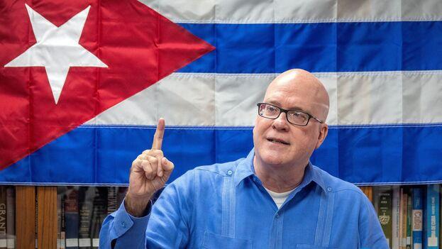 Orlando Gutierrez-Boronat, líder de la Asamblea de la Resistencia Cubana. (EFE/EPA/Cristóbal Herrera-Ulashkevich)