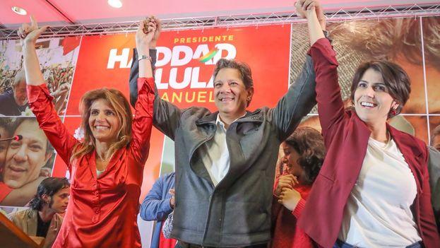 Por el momento, Haddad ha logrado más adhesiones a su candidatura entre los competidores que cayeron en primera vuelta. (FernandoHaddad)