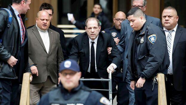 Durante el proceso, Harvey Weinstein ha cambiado en dos ocasiones de equipo de abogados. (EFE)
