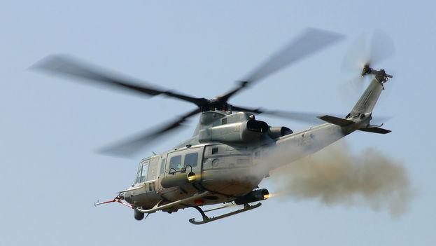 Helicóptero UH-1Y Huey, igual al desaparecido en Nepal. (Google)