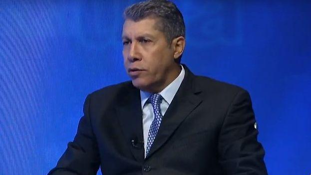 Henri Falcón anunció su intención de ser candidato a presidente y reclamó un Gobierno de unidad en una entrevista televisiva. (@globovision)