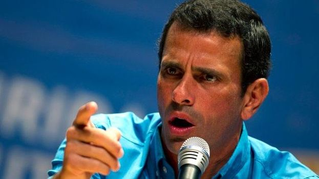 Henrique Capriles. (Twitter)