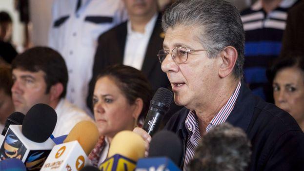 Henry Ramos Allup, presidente de la Asamblea Nacional de Venezuela. (EFE)
