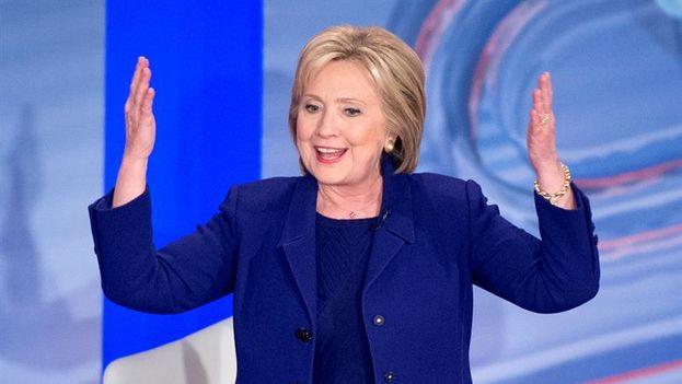 Hillary Clinton se convierte en la primera mujer candidata a la presidencia de EE UU. (EFE)
