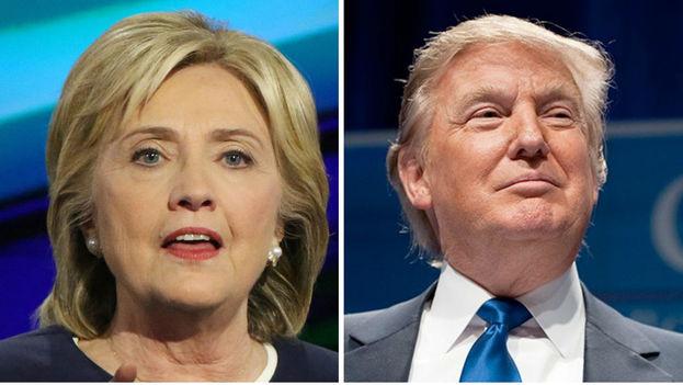 Hillary Clinton y Donald Trump lideran la última encuesta publicada hoy por el principal diario de Iowa.Donald Trump gana la primaria republicana en Carolina del Sur y Hillary Clinton vence en los caucus demócratas de Nevada. (EFE)