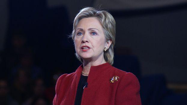 Hillary Rodham Clinton lanza su candidatura para convertirse en la primera presidenta de Estados Unidos