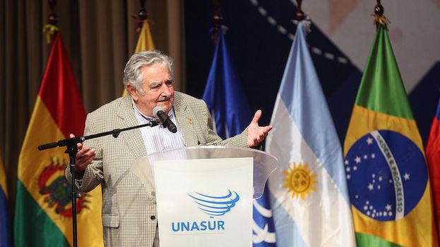 Homenaje a José Mujica del pasado mes de diciembre. (Presidencia de Ecuador)