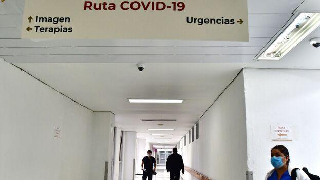 Vista de uno de los pasillos del Hospital Juárez, en la Ciudad de México. (EFE/ Jorge Núñez/Archivo)