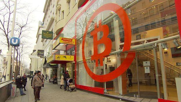 La House of Nakamoto de Viena, la primera tienda real en la que se puede comprar este 'oro digital'. (CC)