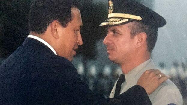 Hugo Carvajal, hombre de confianza de Chávez, insiste en que hay que desmontar el aparato de inteligencia cubana. (D.R.)