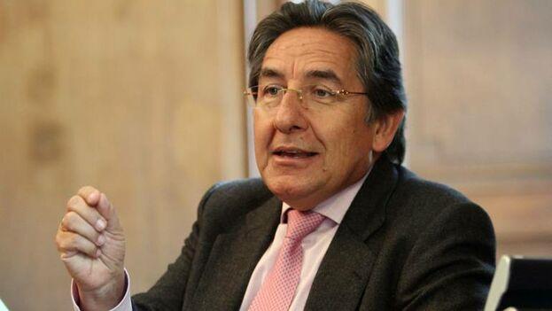 Néstor Humberto Martínez, fiscal general de Colombia, es una de las voces que apoyan a Duque en su rechazo a parte de la Justicia Especial para la Paz. (De Kiosini)
