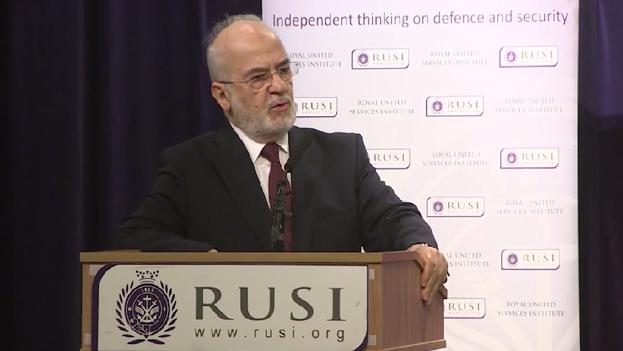 Ibrahim al Yaafari, ministro de Asuntos Exteriores iraquí. (youtube.com)